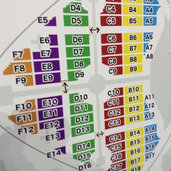 東京 ドーム 座席 表 三代目